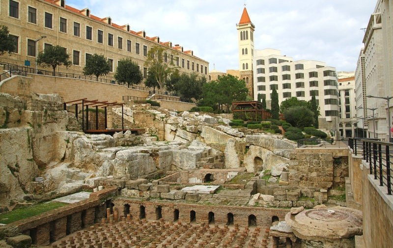 The Roman Baths of Beirut is a historical landmark