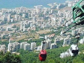 Lebanon Cable Car .. The pleasure of discovering Beirut at an altitude of 550 meters