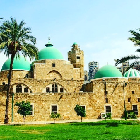 Tinal Mosque,  the most luxurious mosques in Tripoli and the most beautiful of all.